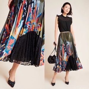 Geisha Design x Anthropologie Lisabetta Maxi Skirt
